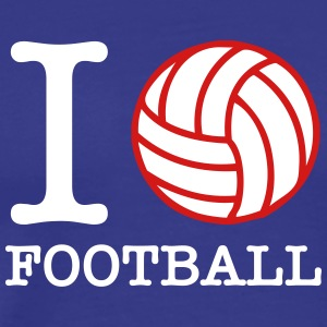 I Love Football! - Men's Premium T-Shirt