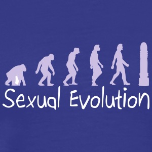 Sexual Evolution From Ape To Erect Man. - Men's Premium T-Shirt