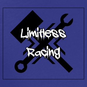 Limitless Racing Logo w/Text - Men's Premium T-Shirt