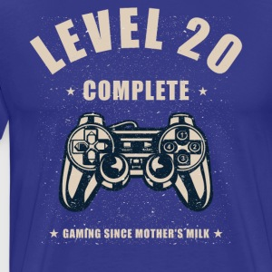 Level 20 Complete Video Gaming T Shirt - Men's Premium T-Shirt