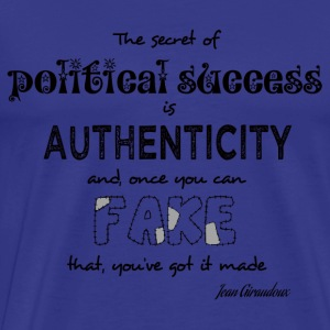 Political success - Men's Premium T-Shirt