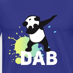 dabbing football touchdown mooving dance panda - Men's Premium T-Shirt