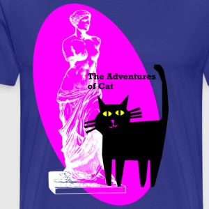 Cat Meets Venus - Men's Premium T-Shirt
