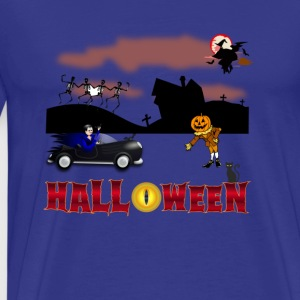 Welcome Halloween - Men's Premium T-Shirt