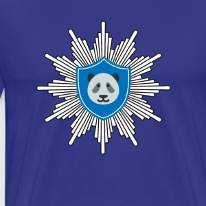 dab Police costume Panda carneval Symbol Party lol - Men's Premium T-Shirt