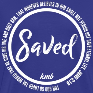 'Saved' Design - Men's Premium T-Shirt