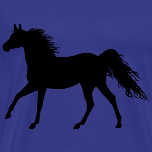 The horse (variable colors!) - Men's Premium T-Shirt