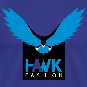 Powerful HAWK bird of prey - Men's Premium T-Shirt