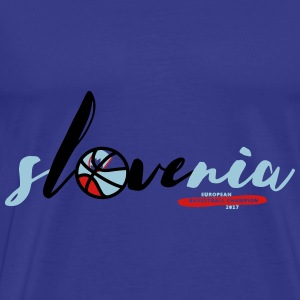 sLOVEnia European Champion Basketball - Men's Premium T-Shirt