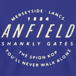 Anfield Football Ground - Men's Premium T-Shirt