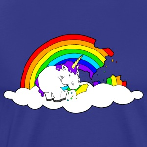 Chunky Unicorn Rainbow - Men's Premium T-Shirt