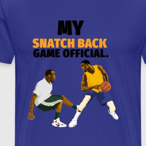 Snatch back Basketball design - Men's Premium T-Shirt