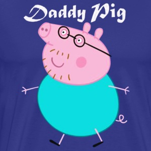 DADDY PIG - Men's Premium T-Shirt