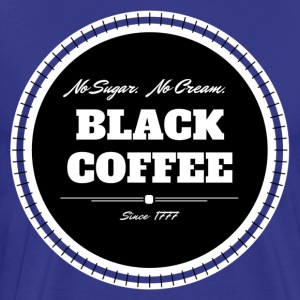 Black Coffee iloveimg cropped - Men's Premium T-Shirt