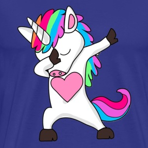 Cute Dabbing Unicorn - Dab Hip Hop Funny Magic - Men's Premium T-Shirt