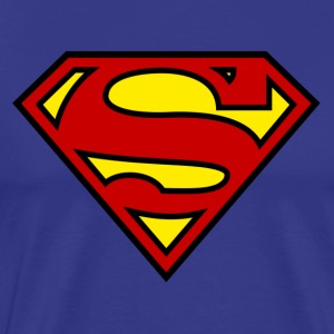 Superman Logo - Men's Premium T-Shirt