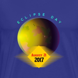 Solar eclipse day - Men's Premium T-Shirt