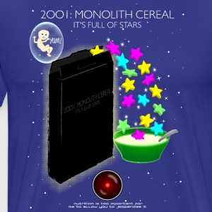 2001: Monolith Cereal - Men's Premium T-Shirt