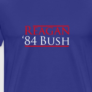 RONALD REAGAN GEORGE BUSH - Men's Premium T-Shirt