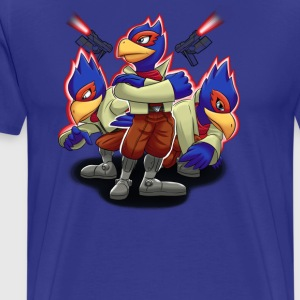 Falco Victory Pose - Men's Premium T-Shirt