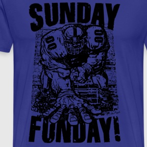 Sunday Funday Smash Mouth Football - Men's Premium T-Shirt
