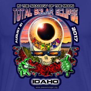 Idaho Eclipse Your Face Total Eclipse Souvenir Art - Men's Premium T-Shirt