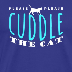 Cat lover | cuddle the cat tee shirt - Men's Premium T-Shirt