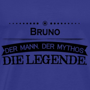 Mythos Legende Vorname Bruno - Men's Premium T-Shirt