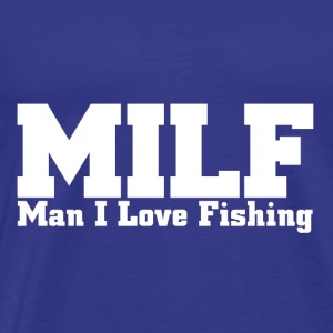 Fishing Shirt Design - Men's Premium T-Shirt