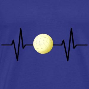 My heart beats for volleyball! gift - Men's Premium T-Shirt