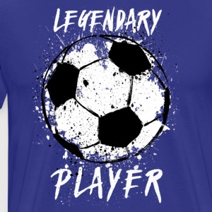 LEGENDARY FOOTBALL PLAYER - Men's Premium T-Shirt