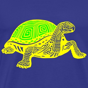 GIFT - TURTLE YELLOW - Men's Premium T-Shirt