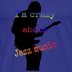 Jazz music - Men's Premium T-Shirt
