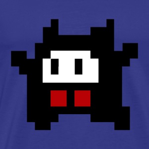 8 bit cute monster - Men's Premium T-Shirt
