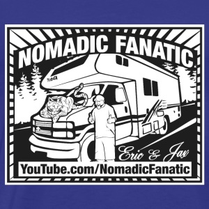 Nomadic Fanatic Logo - Men's Premium T-Shirt