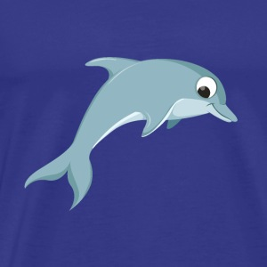 Cute Dolphin - Men's Premium T-Shirt