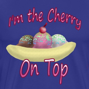 Cherry on Top - Men's Premium T-Shirt