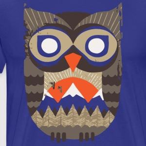 Owl Sunrise - Men's Premium T-Shirt