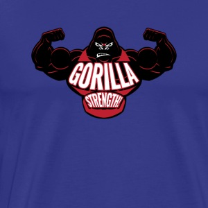Gorilla Strength - Workout Motivation - Men's Premium T-Shirt