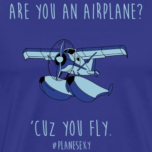 Are You an Airplane? - Men's Premium T-Shirt