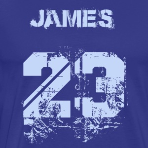 James 23 - Men's Premium T-Shirt