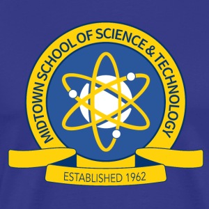 Midtown School of Science & Technology - Men's Premium T-Shirt