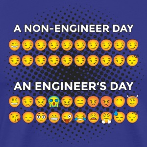 Non Engineers Day VS. Engineer's Day :-) Funny - Men's Premium T-Shirt