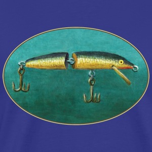 Toggle Fishing Lure - Men's Premium T-Shirt