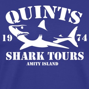 QUINT'S SHARK TOURS - Men's Premium T-Shirt