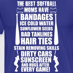 THE BEST SOFTBALL - Men's Premium T-Shirt