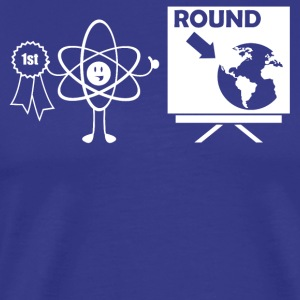 The World is Round - Men's Premium T-Shirt