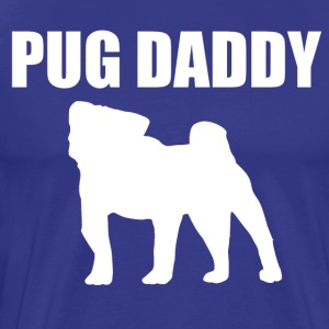 Pug Daddy designs - Men's Premium T-Shirt