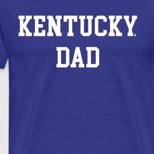 Kentucky Dad Drake Blue Basketball Madness Shirt - Men's Premium T-Shirt