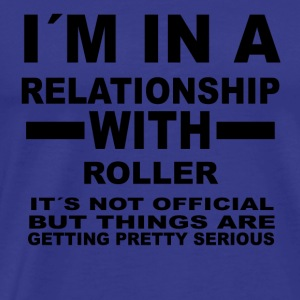 relationship with ROLLER DERBY - Men's Premium T-Shirt